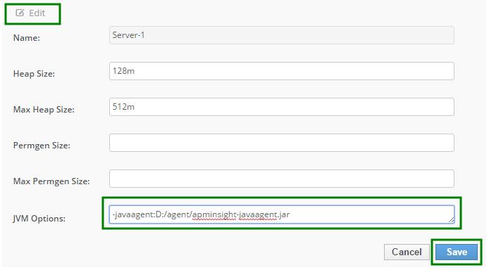Install Java Agent on JBoss EAP   Online Help Site24x7