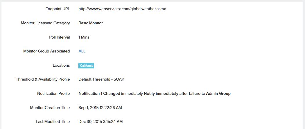 SOAP Web Service | Online Help Site24x7
