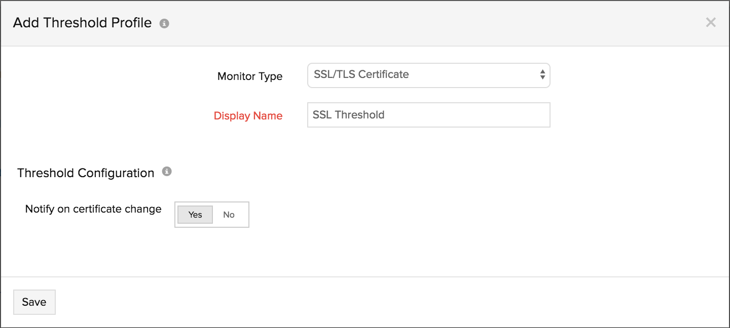 Threshold And Availability For Ssltls Certificate Online Help